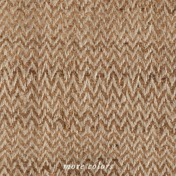 CHEVRON HAND LOOMED SILK FABRIC BY-THE-YARD