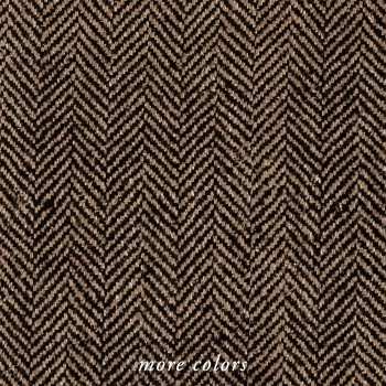 HERRINGBONE HAND LOOMED SILK FABRIC BY-THE-YARD