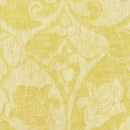 Anichini Calabria Linen Jacquard Fabric By The Yard In Citrine
