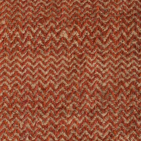 Anichini Chevron Hand Loomed Natural Silk