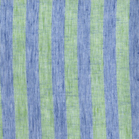 Anichini Linen Stripe Mesh Fabric By The Yard