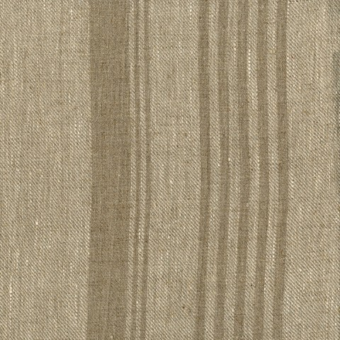 Anichini Olga Heavy Weight Striped Linen Fabric By The Yard