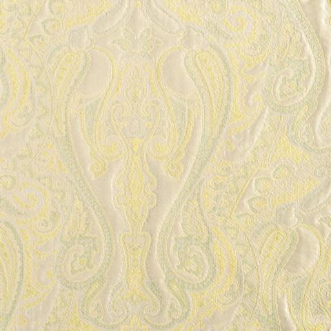 Anichini Tibet Paisley Matelassé Fabric By The Yard